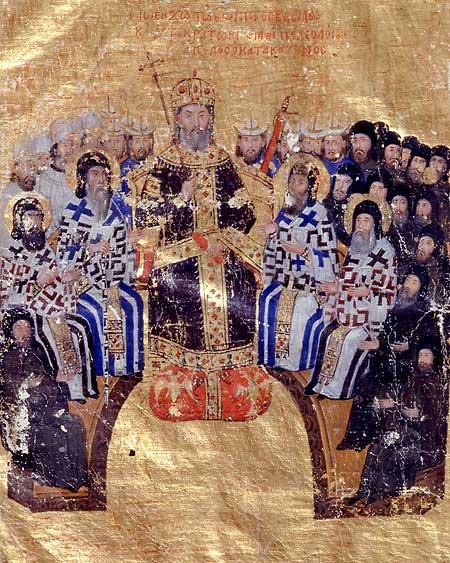 Bizans Imparatoru Yannis Kantakuzenos öldü