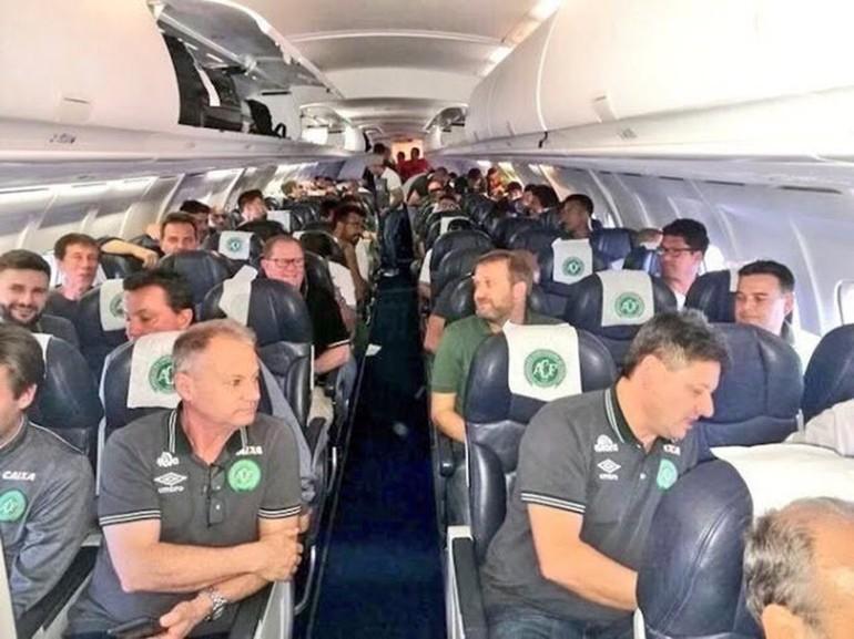 Brezilya Serie A Futbol Takımı Yok Oldu Uçak Kazası