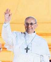 Katolik Kilisesi'nin 266. Papası Arjantinli Jorge Mario Bergoglio oldu. Eski Papa hayattayken seçilen ilk Papa olarak tarihe geçti. tarihte bugün