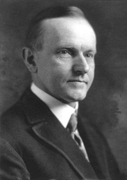 Calvin Coolidge, Amerika Birleşik Devletleri 30. başkanı (ÖY-1933) tarihte bugün