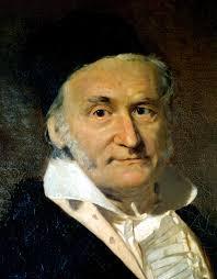Carl Friedrich Gauss, Alman matematikçi, fizikçi (DY-1777) tarihte bugün
