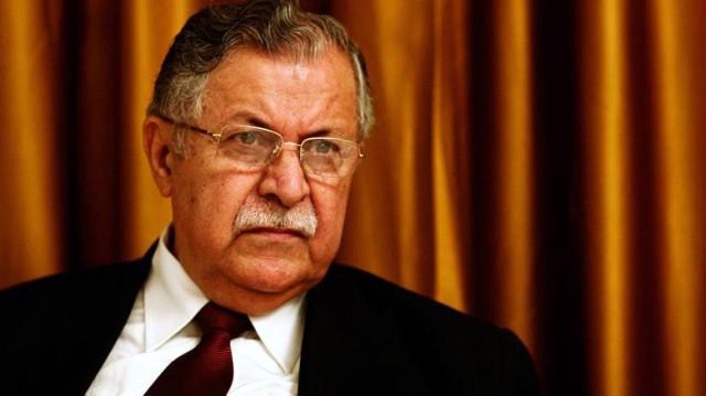 Irak eski cumhurbaşkanı Celal Talabani, 84 yaşında vefat etti. tarihte bugün