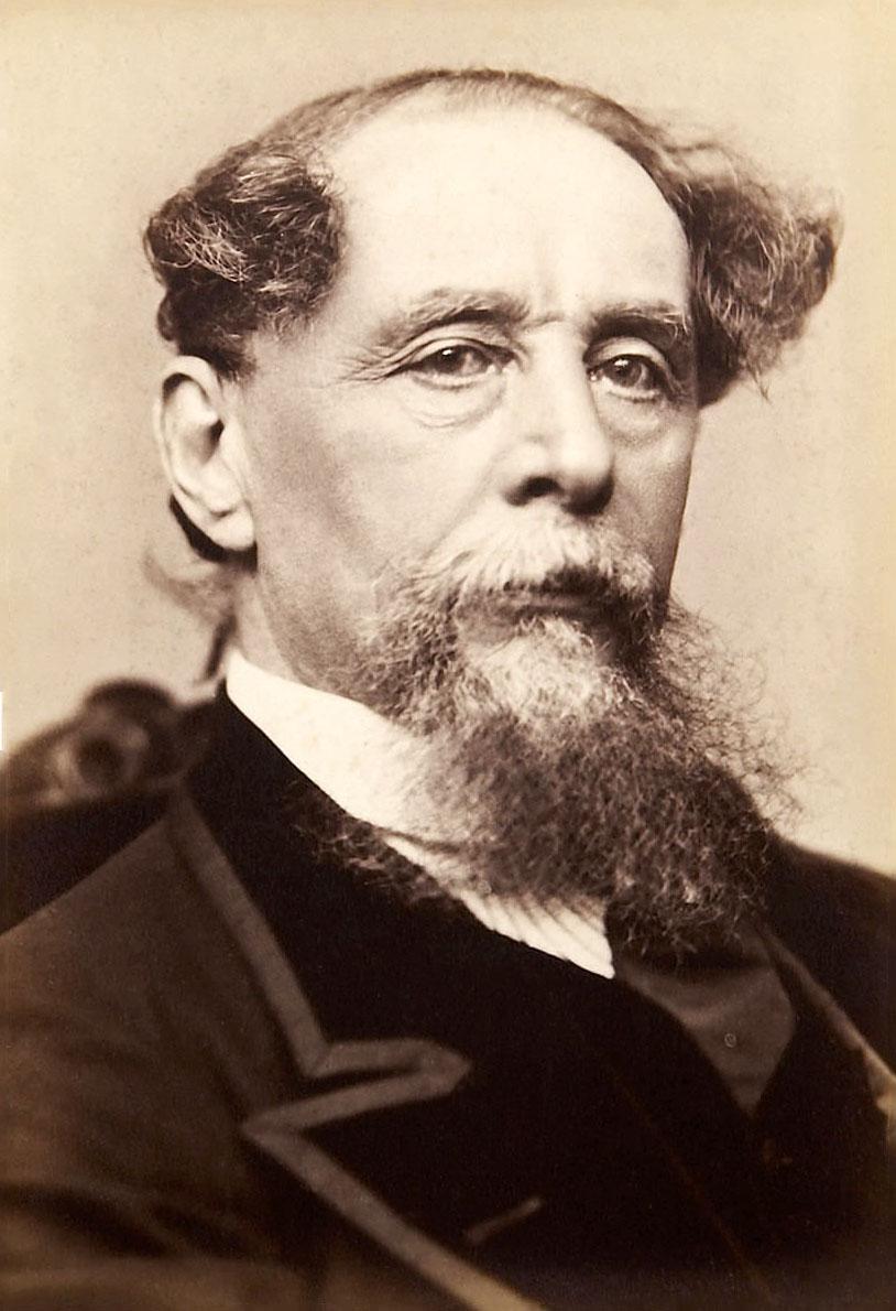Modern İngiliz edebiyatının en önemli yazarlarından, Sanayi Devrimi'nin ve kapitalizmin yarattığı toplumsal eşitsizlik, yoksulluk ve sefaleti konu alan romanlarıyla tanınan Charles Dickens. tarihte bugün