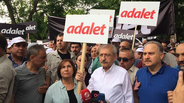 CHP Ankaradan İstanbula Yürüyüş Başlattı
