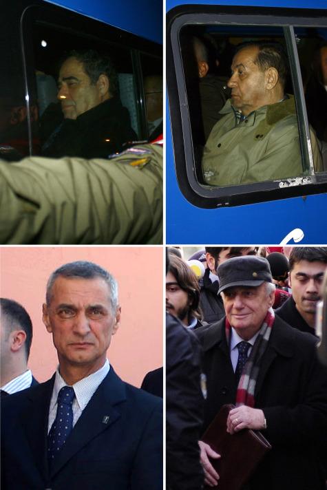 Balyoz Planı davasına bakan İstanbul 10. Ağır Ceza Mahkemesi heyeti, aralarında Özden Örnek, Halil İbrahim Fırtına ve Engin Alan?ın da bulunduğu 133 sanığın tutuklanmasına karar verdi. tarihte bugün