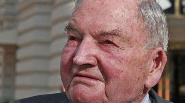 ABD'li milyarder, işadamı David Rockefeller 101 yaşında öldü. tarihte bugün