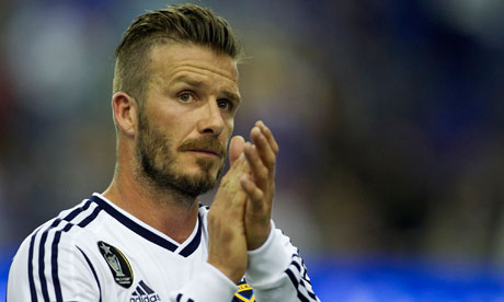 David Beckham, ingiliz futbolcu tarihte bugün