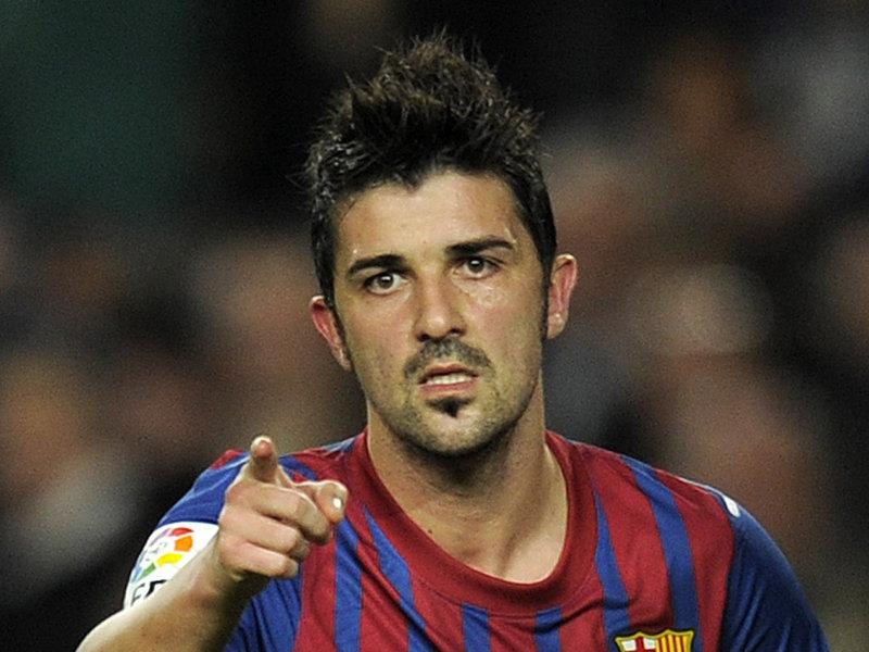 David Villa, ispanyol futbolcu tarihte bugün
