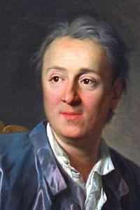 Denis Diderot, Fransız yazar, filozof (DY-1713) tarihte bugün