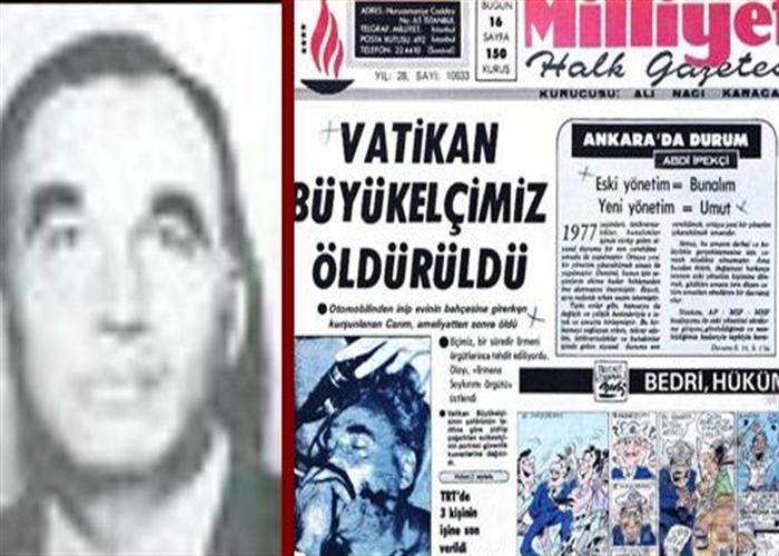 Diplomat Taha Carım öldürüldü