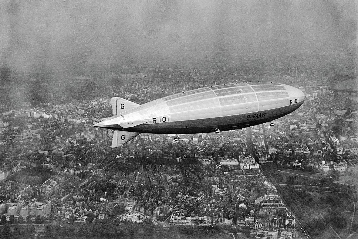 Dünyanın en büyük hava gemisi havada patladı