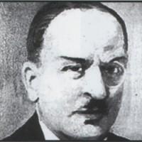 Besteci ve gazeteci Muhsin Sabahattin Ezgi. tarihte bugün