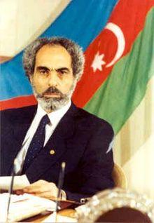 Ebulfez Elçibey, Azerbaycan Cumhuriyeti'nin 2. Cumhurbaşkanı.