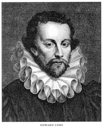 Edward Coke, ingiliz hukukçu (DY-1552) tarihte bugün