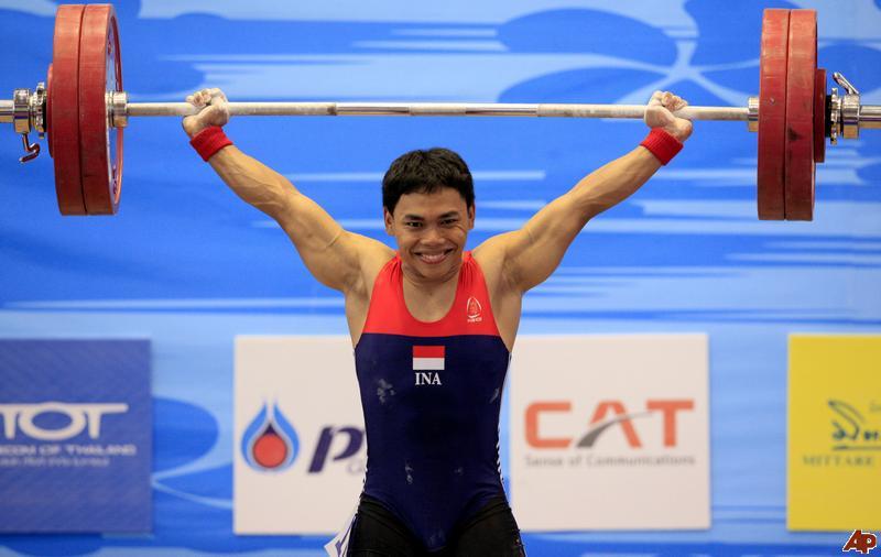 Eko Yuli Irawan, Endonezyalı sporcu halterci tarihte bugün