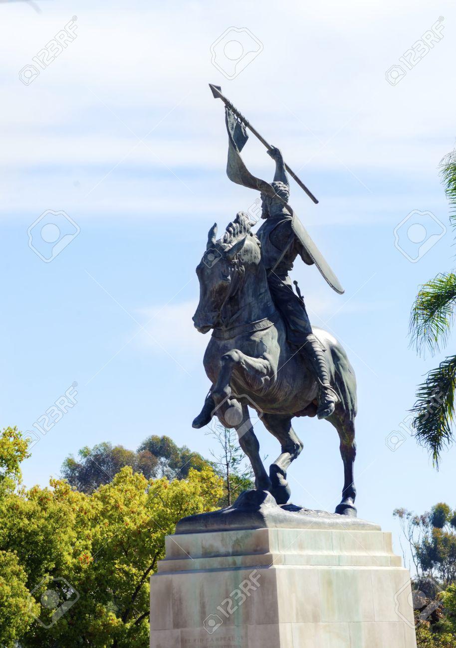 El Cid (Rodrigo Diaz de Vivar), Kastilyalı asil, komutan, diplomat (DY-1044) tarihte bugün