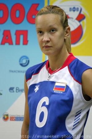 Elena Godina, Rus voleybolcu tarihte bugün