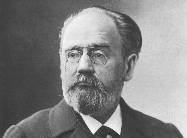 Fransız romancı Emile Zola. tarihte bugün
