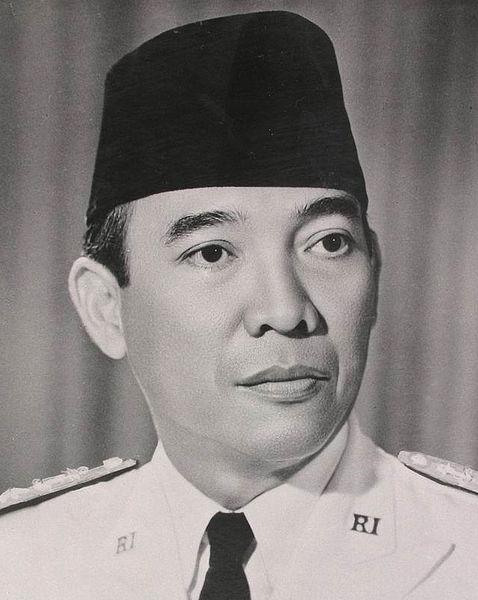 Sukarno, Endonezya'nın ilk devlet başkanı. (DY-1901) tarihte bugün