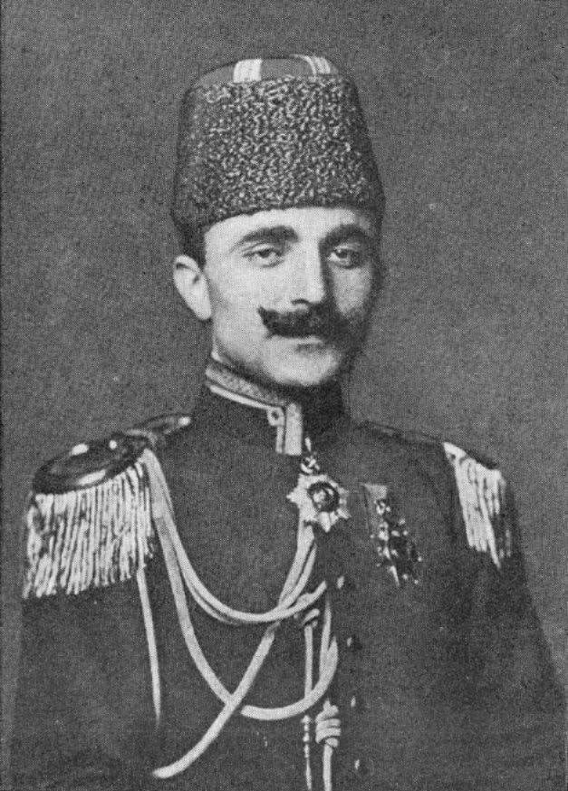 Enver Paşa,siyaset adamı ve komutan (DY-1881) tarihte bugün