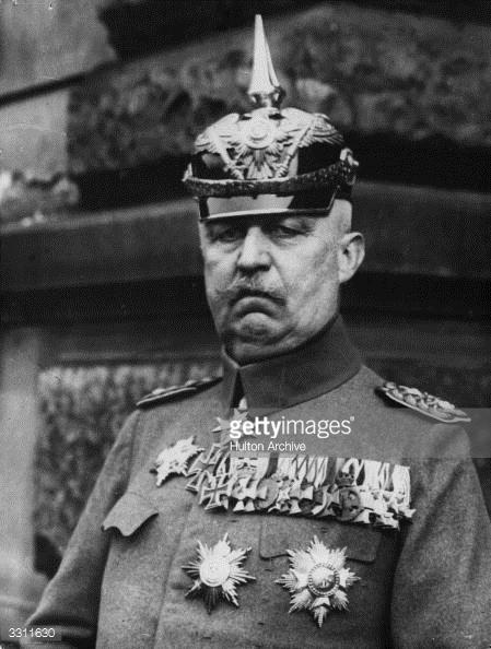 Erich Ludendorff, Alman general (DY-1865) tarihte bugün