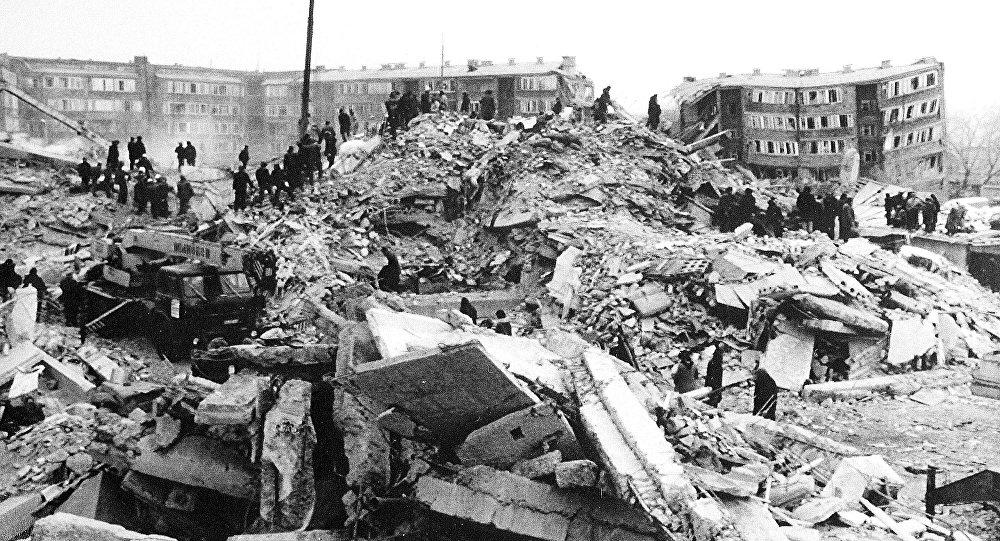 Ermenistan Spitak Depremi
