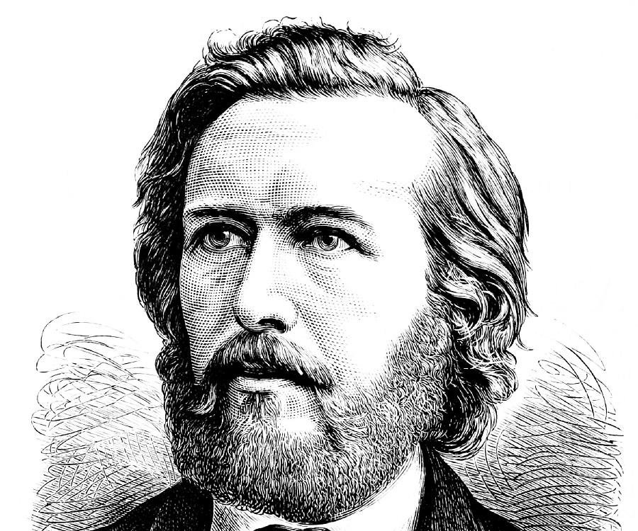 Ernst Haeckel, evrim teorisinin savunucusu. (DY-1834) tarihte bugün