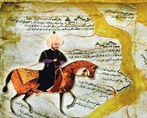 Evliya Çelebi, Osmanlı gezgini ve yazar. (ÖY-1682) tarihte bugün