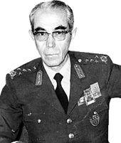 Faik Türün, asker, siyasetçi.12 Mart dönemi komutanlarından emekli orgeneral (DY-1913) tarihte bugün