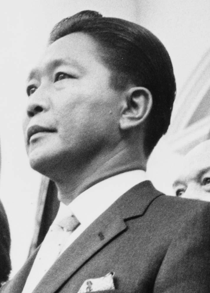 Ferdinand Marcos, Filipinler devlet başkanı (DY-1917) tarihte bugün