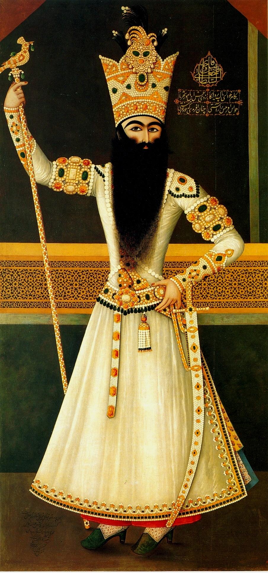 Feth Ali Şah Kaçar, Kaçar Hanedanı ikinci hükümdarı (ÖY-1834) tarihte bugün