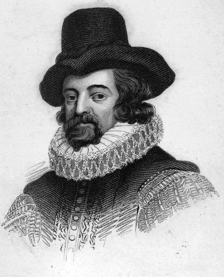Sir Francis Bacon, ingiliz siyasetçi, filozof (DY-1561) tarihte bugün