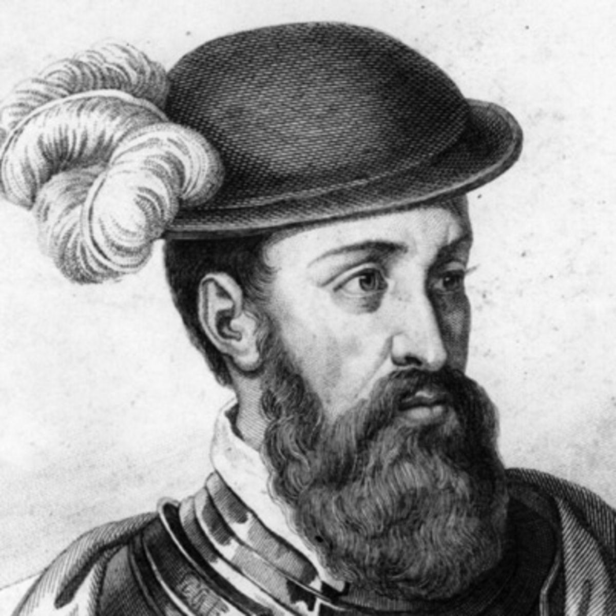 Francisco Pizarro, Peru topraklarını ele geçiren ispanyol(DY-1475) tarihte bugün