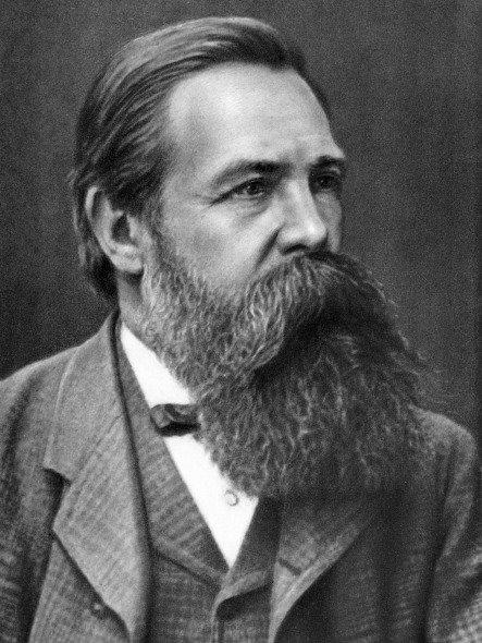 Karl Marx ile birlikte modern sosyalist teoriyi kuran Friedrich Engels. Almanya'da bir fabrikatörün oğlu olarak dünyaya gelen Engels kırk yıl boyunca uluslararası işçi hareketinin teorik ve siyasal önderliğini yürüttü.