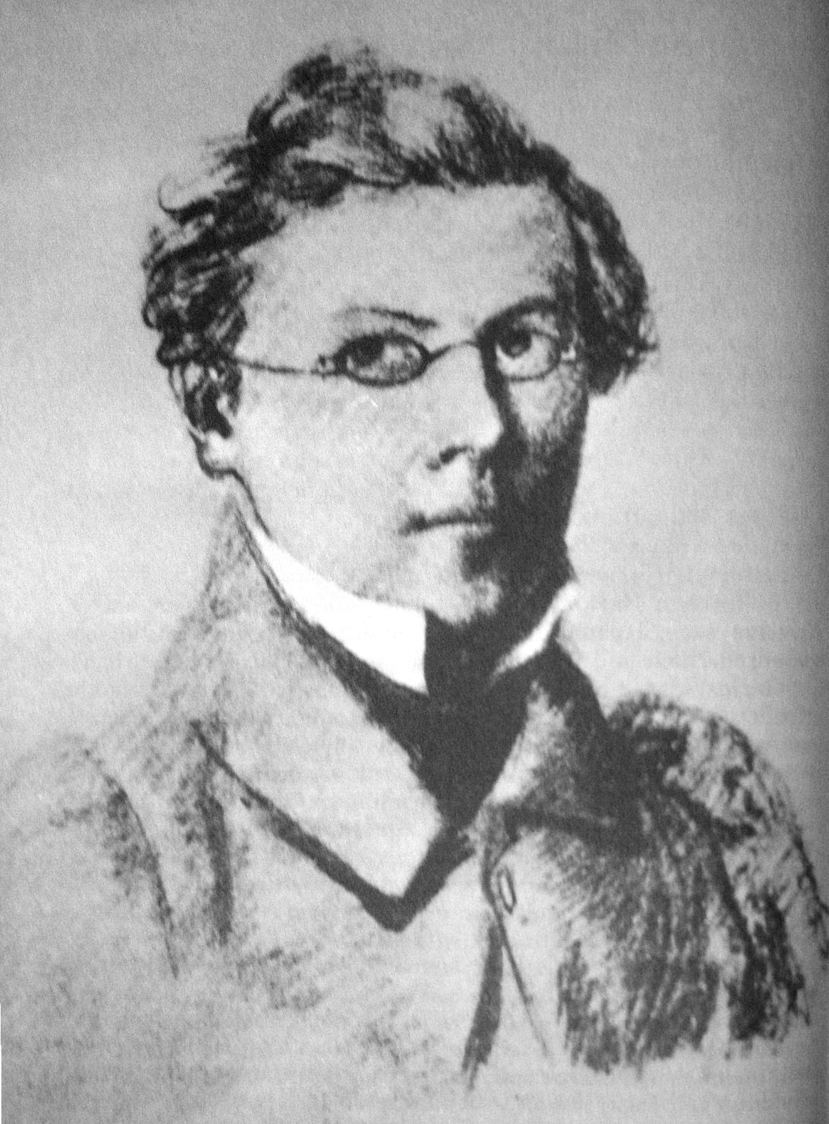 Fritz Reuter, Alman yazar (DY-1810) tarihte bugün