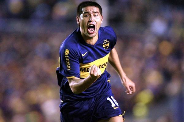 Juan Roman Riquelme, Arjantinli futbolcu tarihte bugün