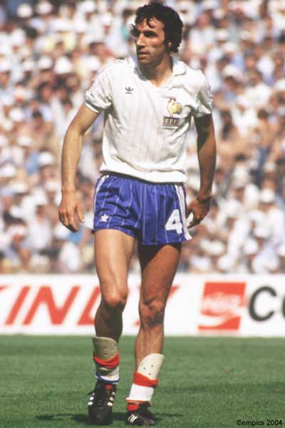 Maxime Bossis, Fransız futbolcu tarihte bugün