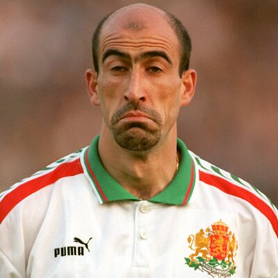 Yordan Letchkov, Bulgar futbolcu tarihte bugün