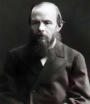 Rus yazar Fyodor Dostoyevski. tarihte bugün