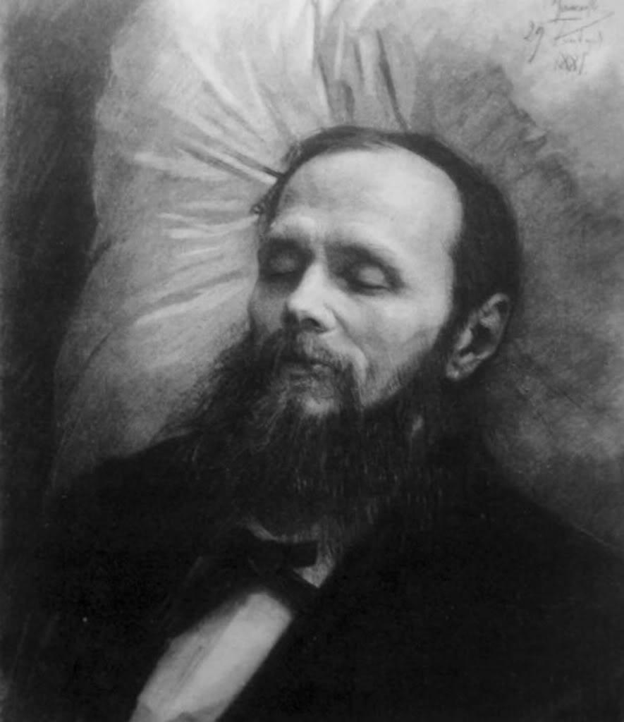 Rus ve dünya edebiyatının önde gelen romancılarından Fyodor Dostoyevski  tarihte bugün