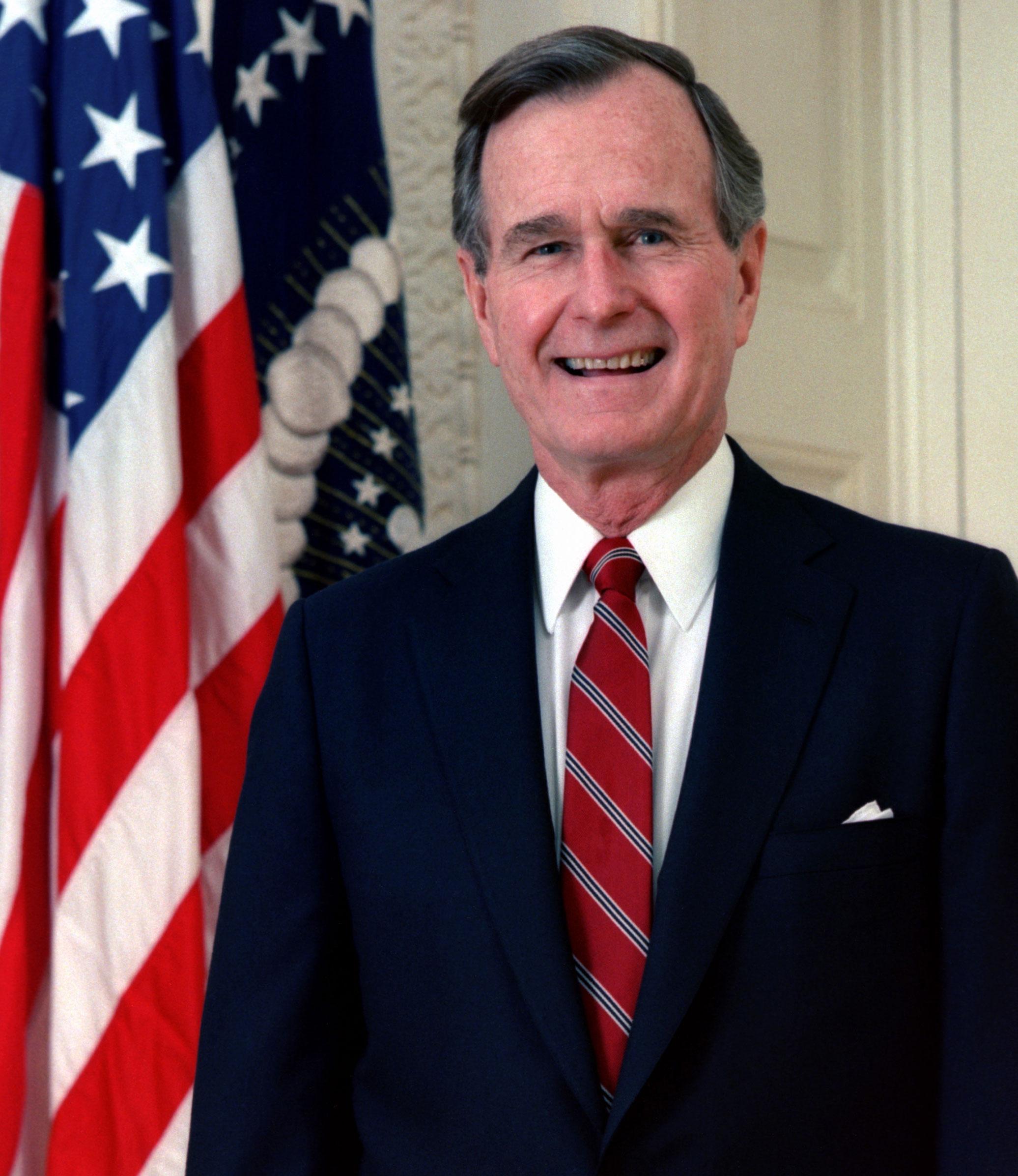 George H. W. Bush, Amerika Birleşik Devletleri 41. başkanı tarihte bugün