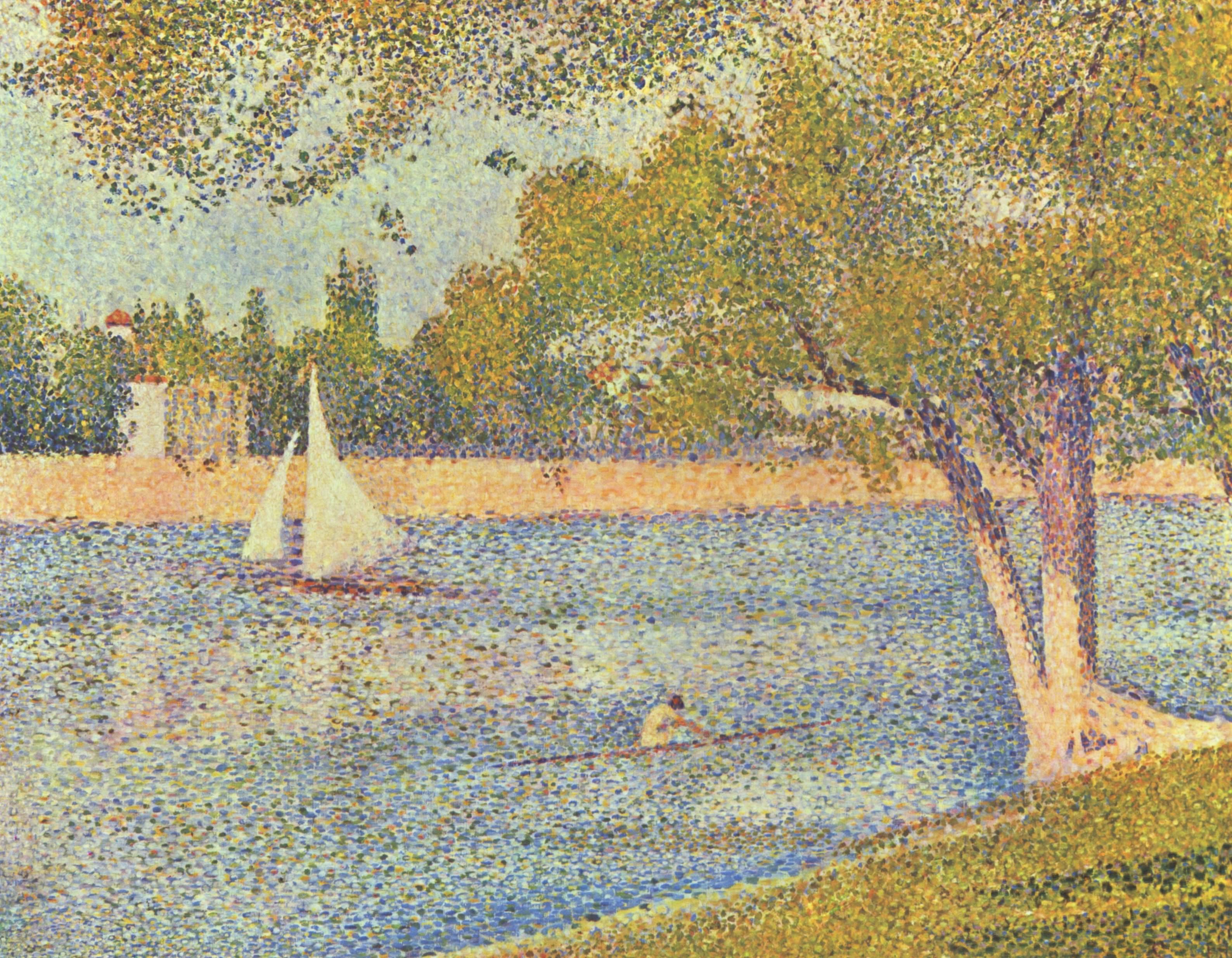 Georges Seurat, Fransız ressam (ÖY-1891) tarihte bugün