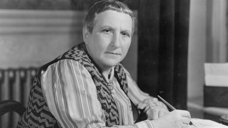 Gertrude Stein, roman yazarı, edebiyatçı (DY-1874) tarihte bugün