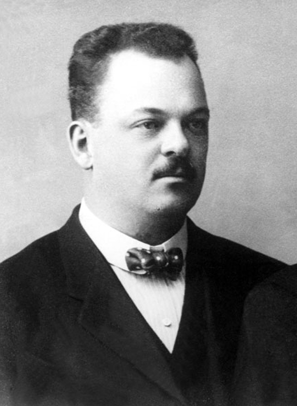 Gideon Sundback, isveçli mucit (ÖY-1954) tarihte bugün