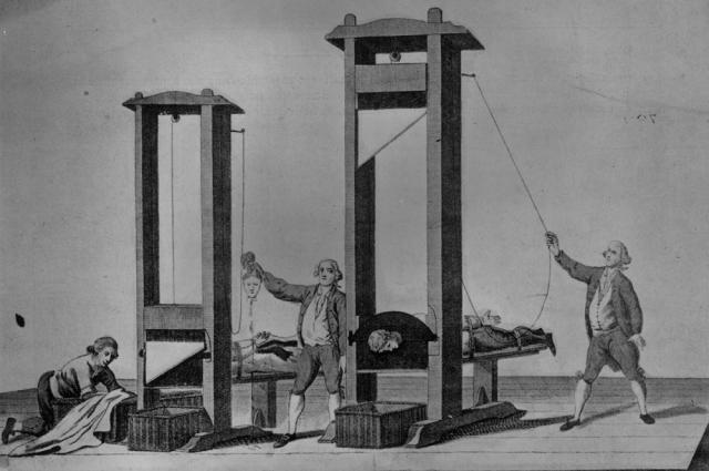 Paris'te Fransa Milli Meclisi giyotinle idamı onayladı. tarihte bugün