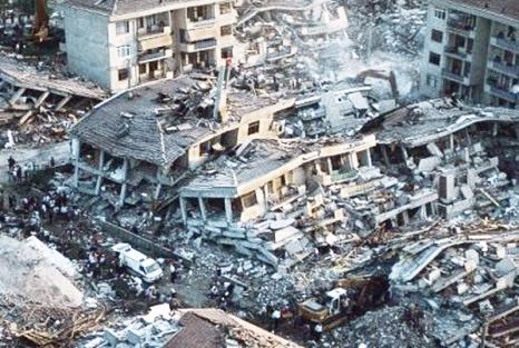 Gölcük İzmit Marmara Depremi