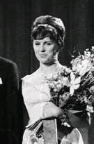 Grethe Ingmann, Danimarkalı şarkıcı (DY-1938) tarihte bugün