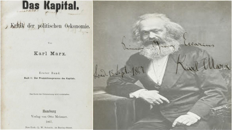 Günün Fotoğrafı Das Capital Karl Marx