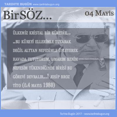 Günün Sözü Josip Broz Tito Ülkemiz