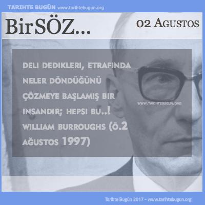 Günün Sözü William Burroughs Deli dedikleri